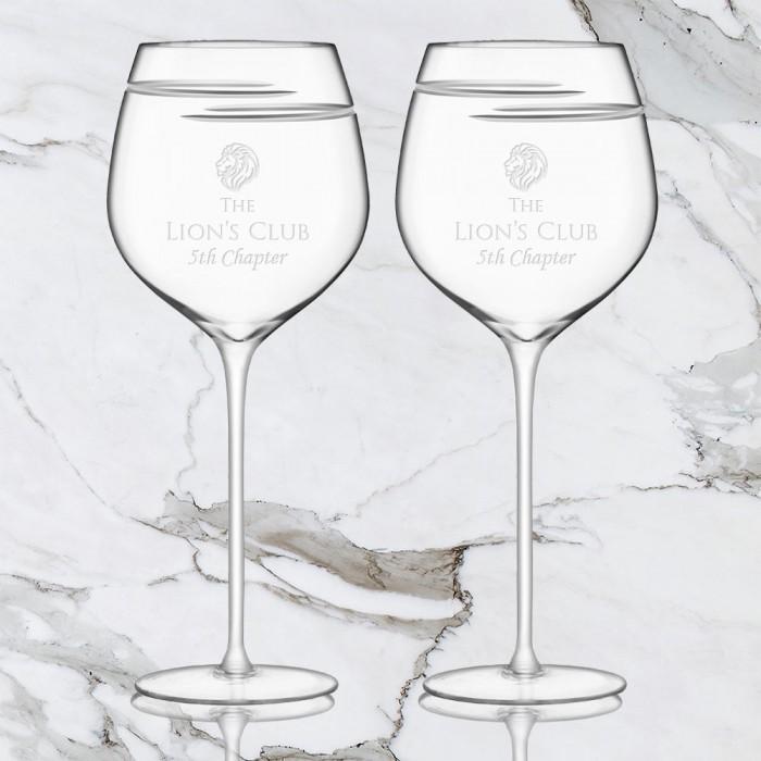 Verso Red Wine Glass Pair