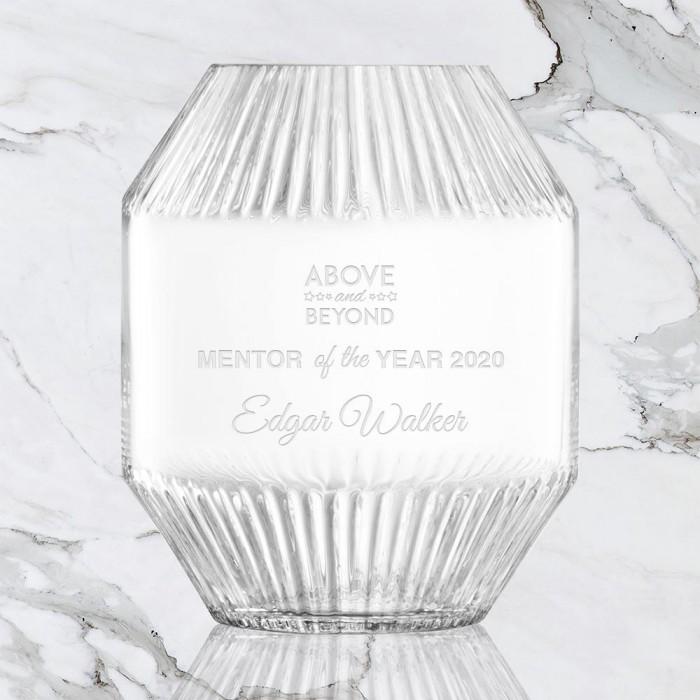 Rotunda Angled Rim Vase