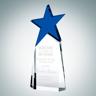 Triumphant Blue Star Award