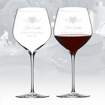 Waterford Elegance Cabernet Sauvignon Wine Glass Pair, 26.7oz
