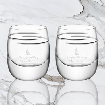 LSA Verso Whisky Tumbler Pair, 9.3oz