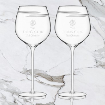 LSA Verso Red Wine Glass Pair, 25.4oz