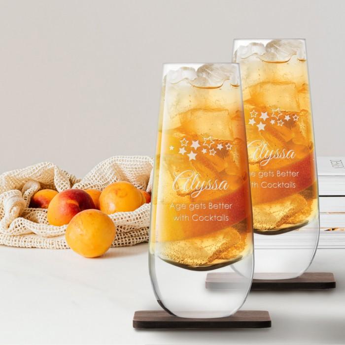 LSA Islay Mixer Glass lifestyle
