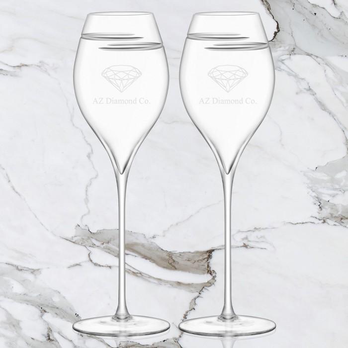 LSA Champagne Tulip Glass Pair