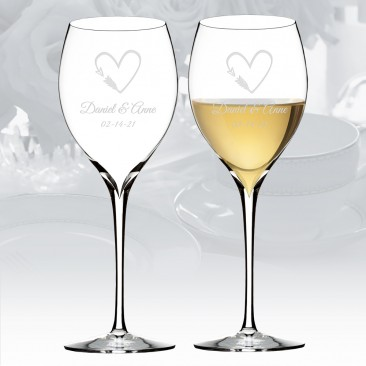 Waterford Elegance Chardonnay Wine Glass Pair, 14.5oz