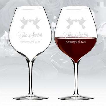 Waterford Elegance Merlot Wine Glass Pair, 23.2oz