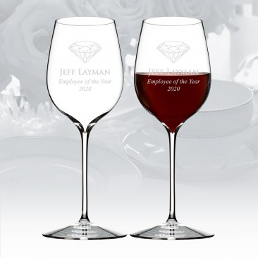 Waterford Elegance Pinot Noir Wine Glass Pair, 18.6oz