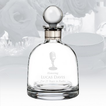 Waterford Elegance Short Decanter with Round Stopper 37.2oz