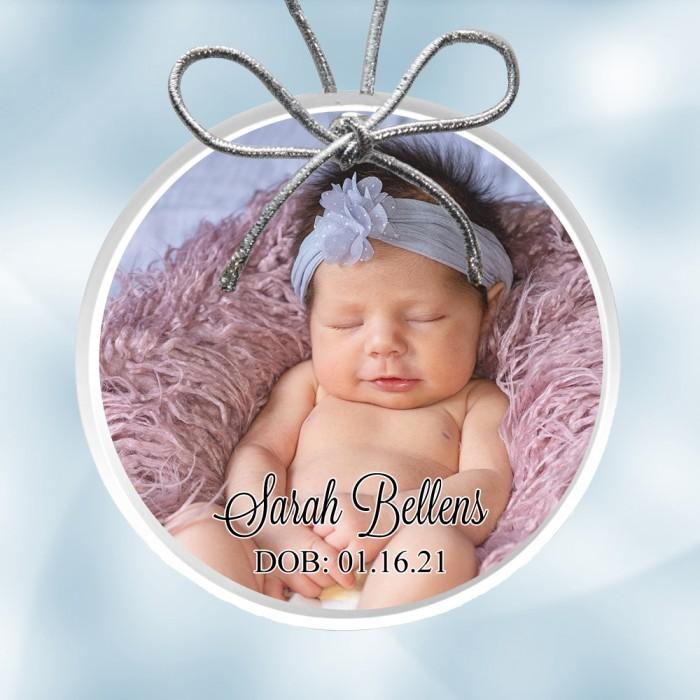 Photo Acrylic Ornament