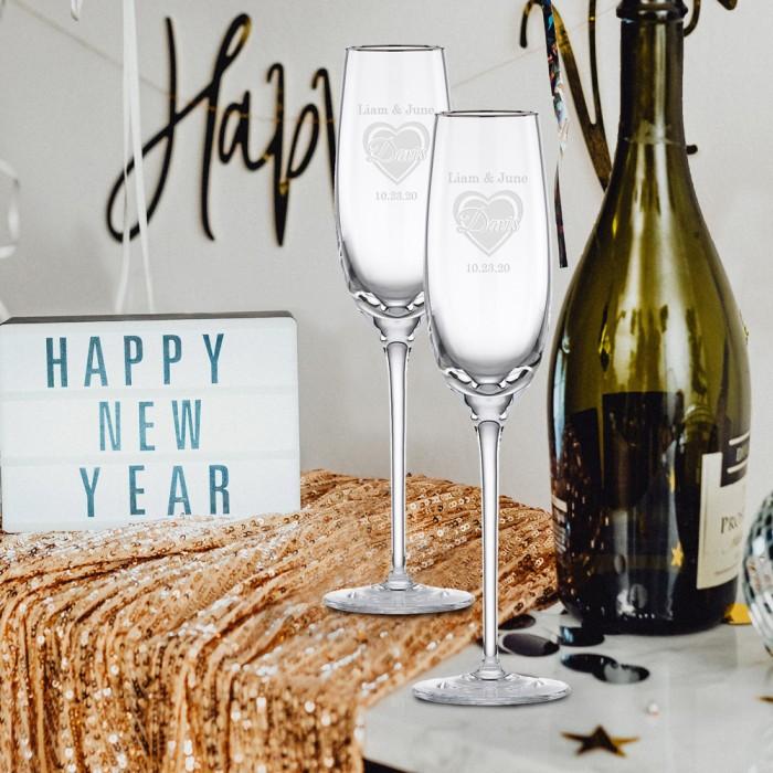 Platinum Champagne Flute lifesty