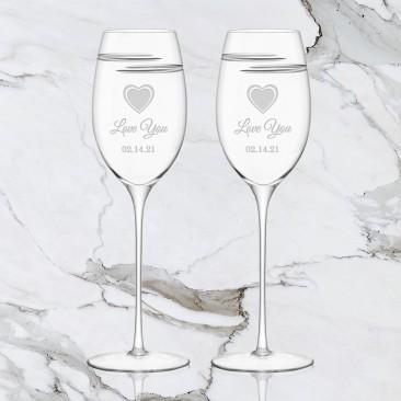 LSA Verso White Wine Glass Pair, 11.5oz