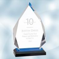 Blue Diamond Impress Acrylic Award