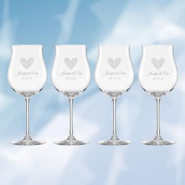 Lenox Tuscany Classic Rosé Glass 4pc Set, 16oz