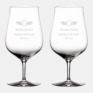 Waterford Elegance Hybrid Glass, Pair