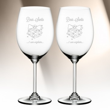 Riedel Cabernet Merlot Wine Glass Pair, 21.5oz