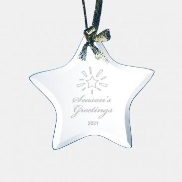 Jade Beveled Star Ornament