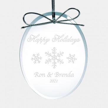 Premium Oval Ornament