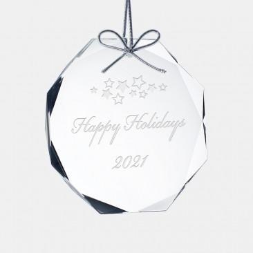 Gem-Cut Octagon Ornament