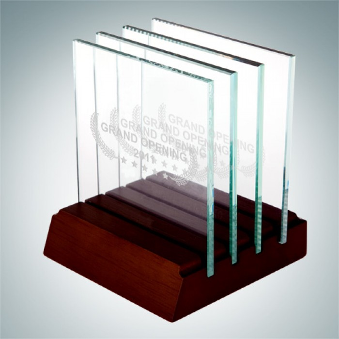 Square Glass Coaster - Set