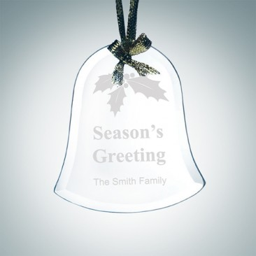 Beveled Bell Ornament