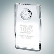 Beveled Plaque Clock