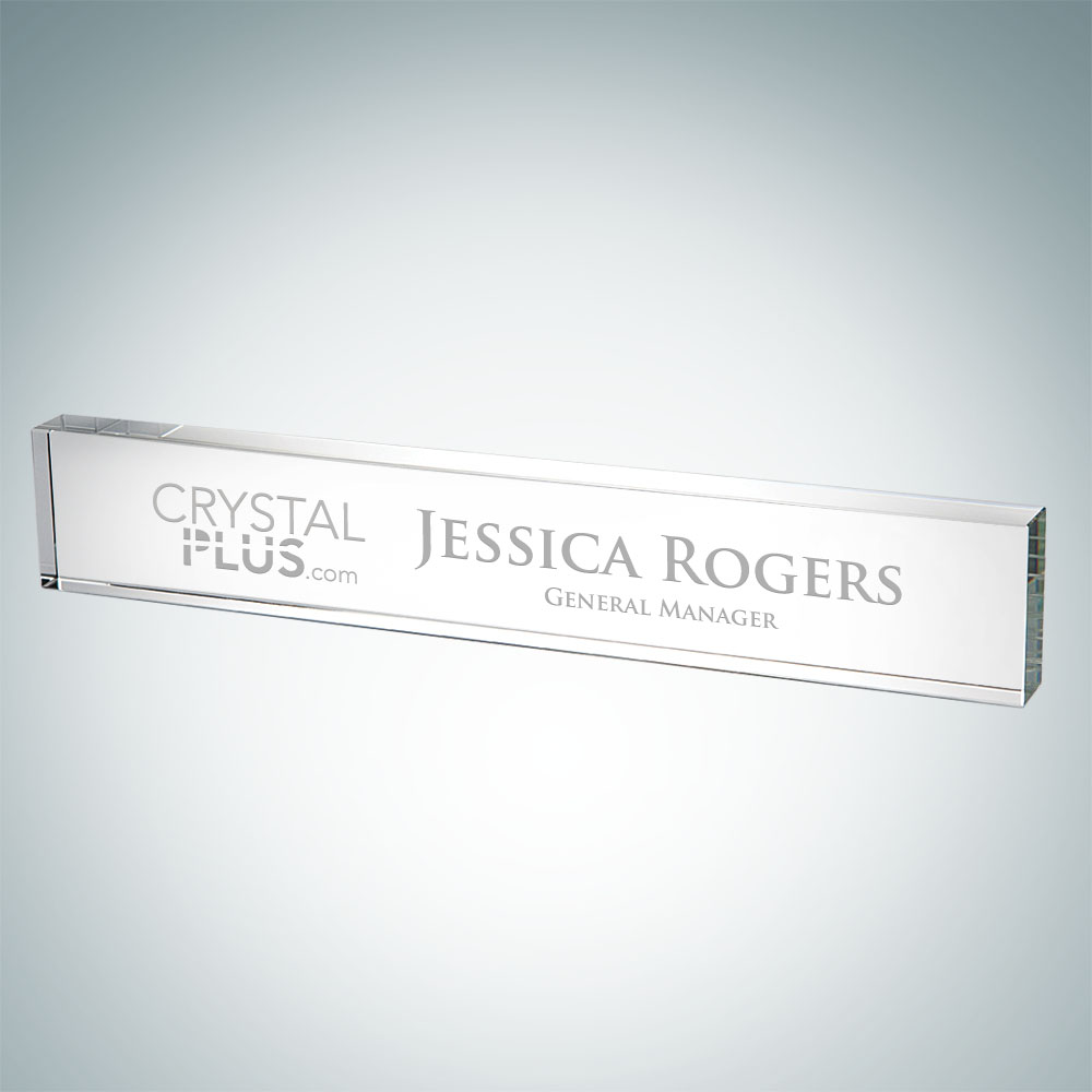 Rectangle Nameplate