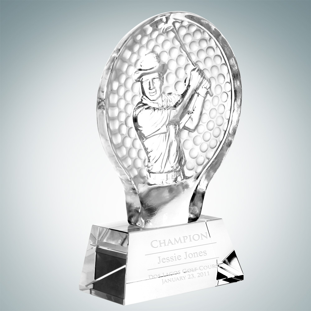 Male Golfer Champion Award – Large