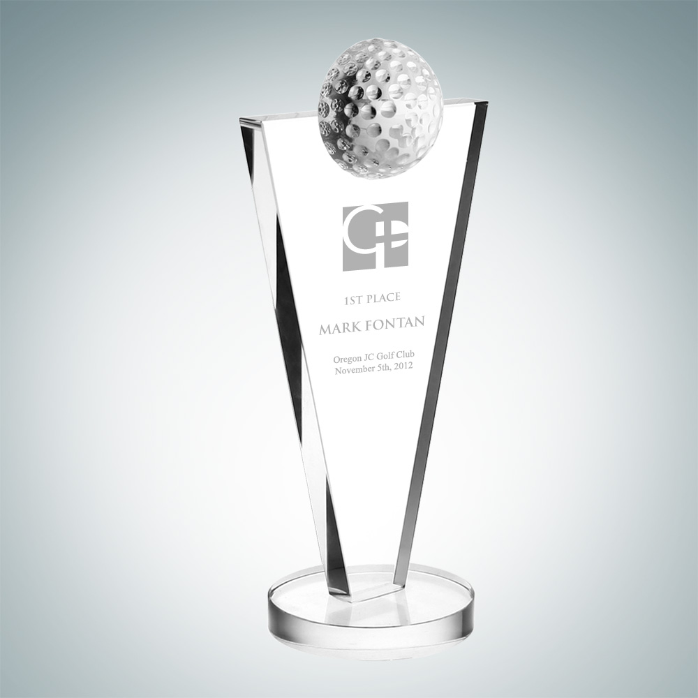 Success Golf Trophy  – Med