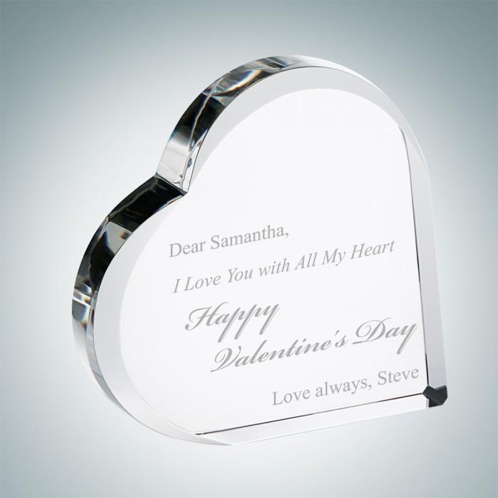 V Day Heart Keepsake