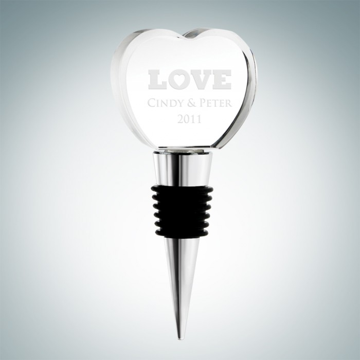 Heart Shape Wine Stopper