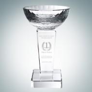 Optical Crystal Glory Trophy Cup Award