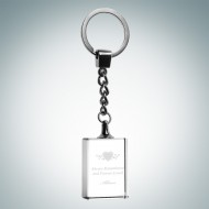 Rectangle Treasure Keychain