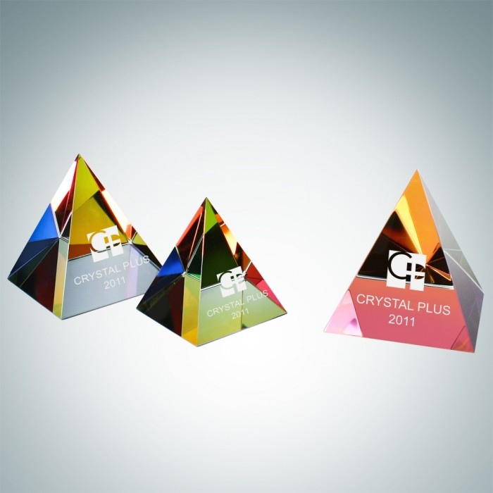 Color Coated Pyramid