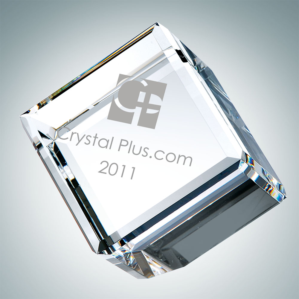 Beveled Diamond Cube - Small