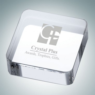 Square Paperweight