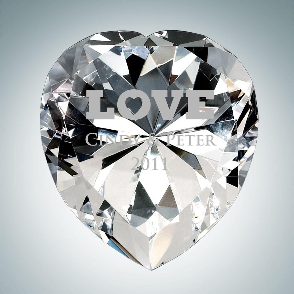 Now & Forever Diamond Heart – Small