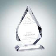 Optic Crystal Prestige Flame Award