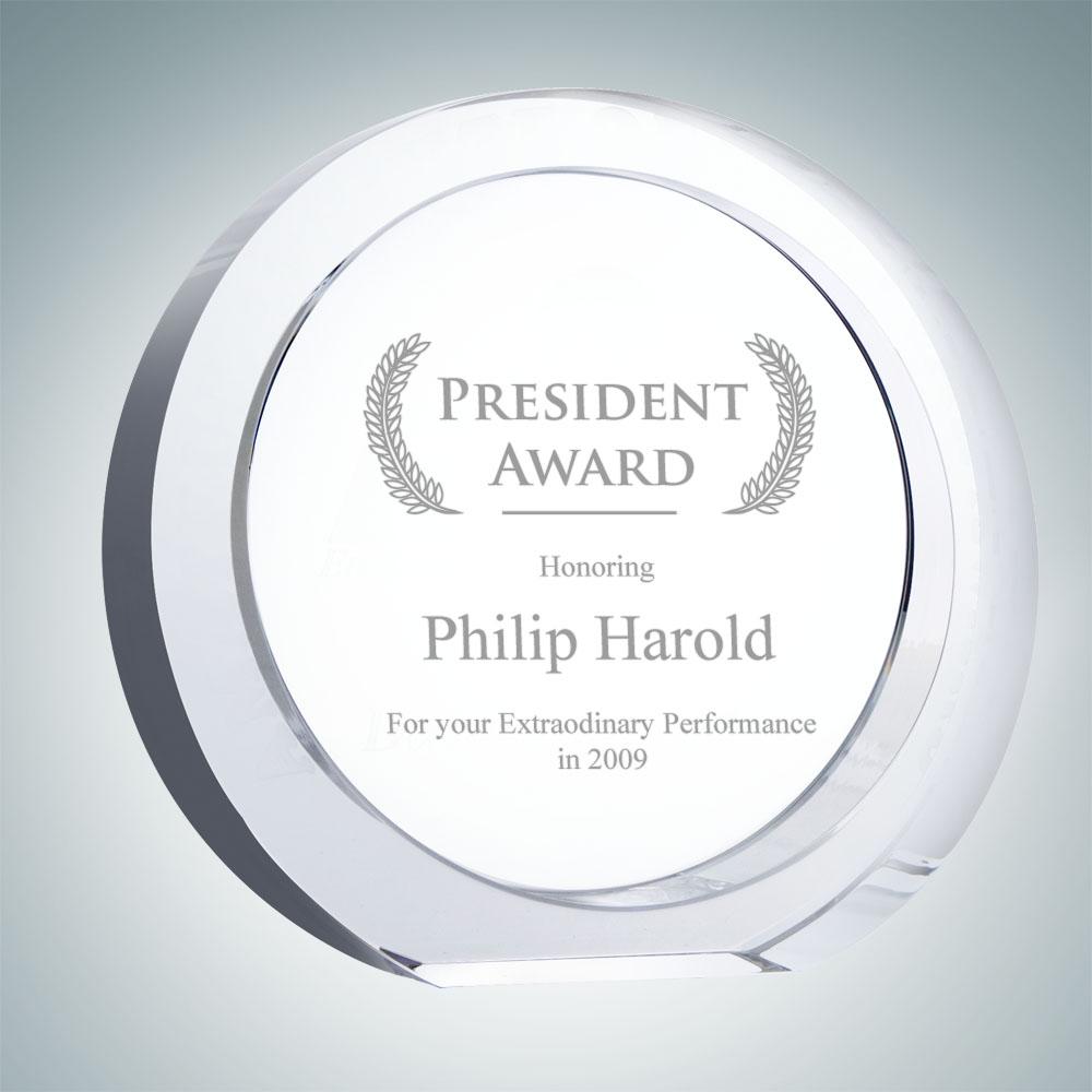 President Circle Award - Large
