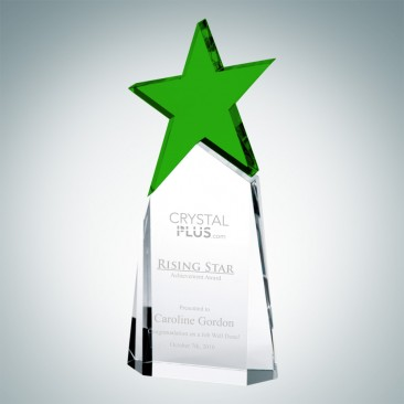 Triumphant Green Star Award