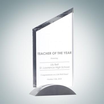 Sail Award with Aluminum Base