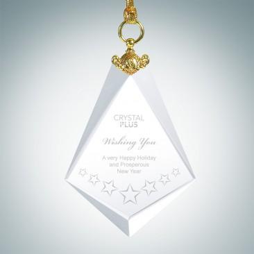 Deluxe Diamond Ornament