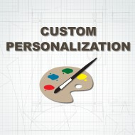 Custom Personalization Options