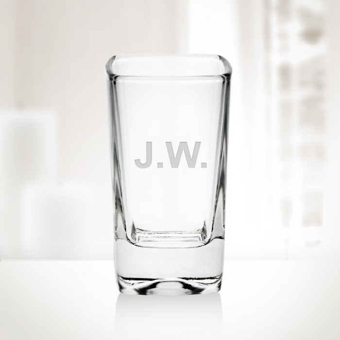 234oz tall square shot glass