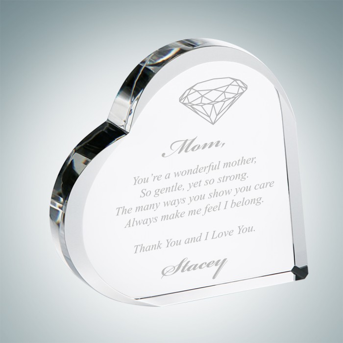 Mother's Day Heart Keepsake