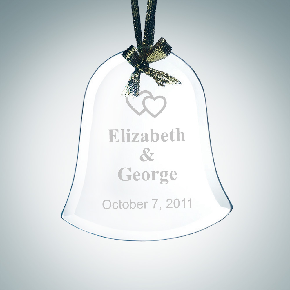 Beveled Bell Shape Ornament