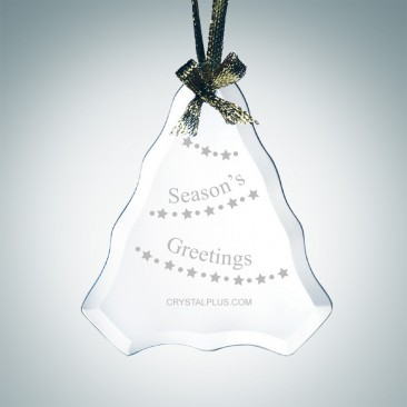 Beveled Tree Ornament