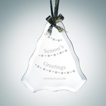 Beveled Tree Ornament