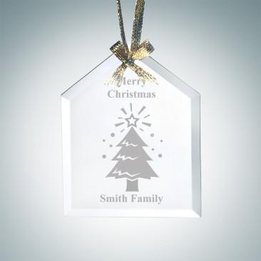 Beveled House Ornament