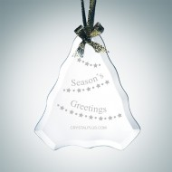 Beveled Tree Shape Ornament