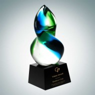 Art Glass Blue Union Award